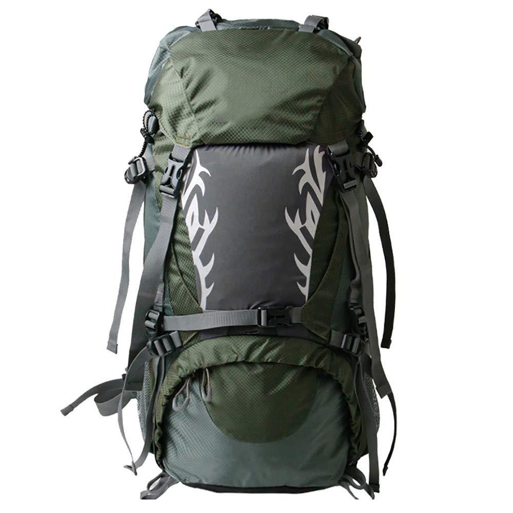 LXMBox Sac à Dos d'alpinisme, Sacs à Dos, Sac à Dos, Sac à Dos 60 litres, idéal pour Le Sport en Plein air, la randonnée, Le Trekking, Le Camping, Les Voyages, l'escalade, Le Sac étanche,vert vert -
