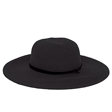 078cf3e21 Peter Grimm Womens Coralia Resort Sun Hat - Black at Amazon Women's ...