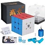 Moyu Weilong gts3m 3x3 スピードキューブ ステッカーレス 競技向け GTS V3 M 3x3x3 磁石内蔵 moyu キューブ パズル gts3m Magnetic stickerless