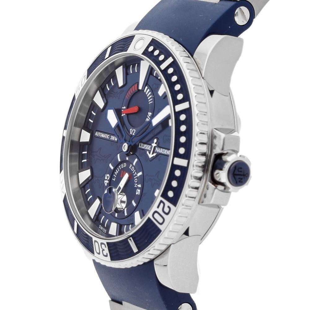 Ulysse Nardin Maxi automatic-self-wind Marino reloj para hombre 263 - 91le-3 (Certificado) de segunda mano: Ulysse Nardin: Amazon.es: Relojes