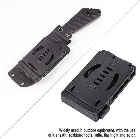 K Sheath Pocket Scabbard Belt Clips Tactical Accessories Clip Waist New Out A5B8