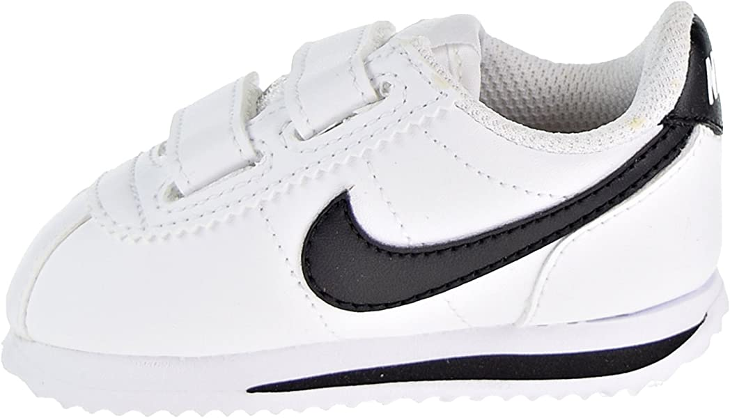 9dd7f3c51f89 NIKE Cortez Basic SL Toddler s Shoes White Black 904769-102