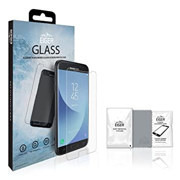 Eiger 2.5D Screen Protector Glass Samsung J5 (2017) Clear: Amazon ...