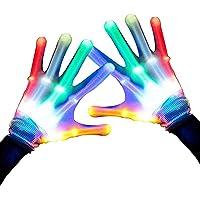 Caly Flashing LED Gloves for Kids Boys