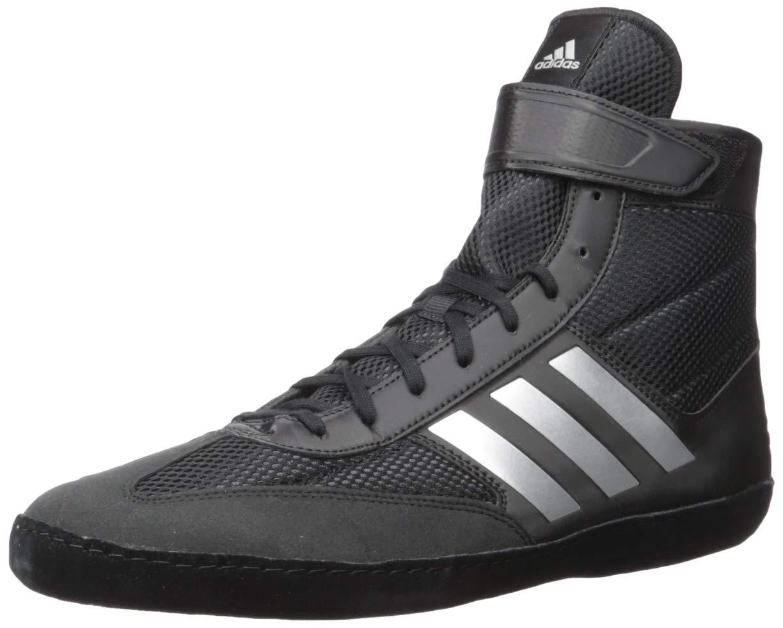 adidas Men's Combat Speed.5, Silver Metallic/Black, 11 M US by adidas