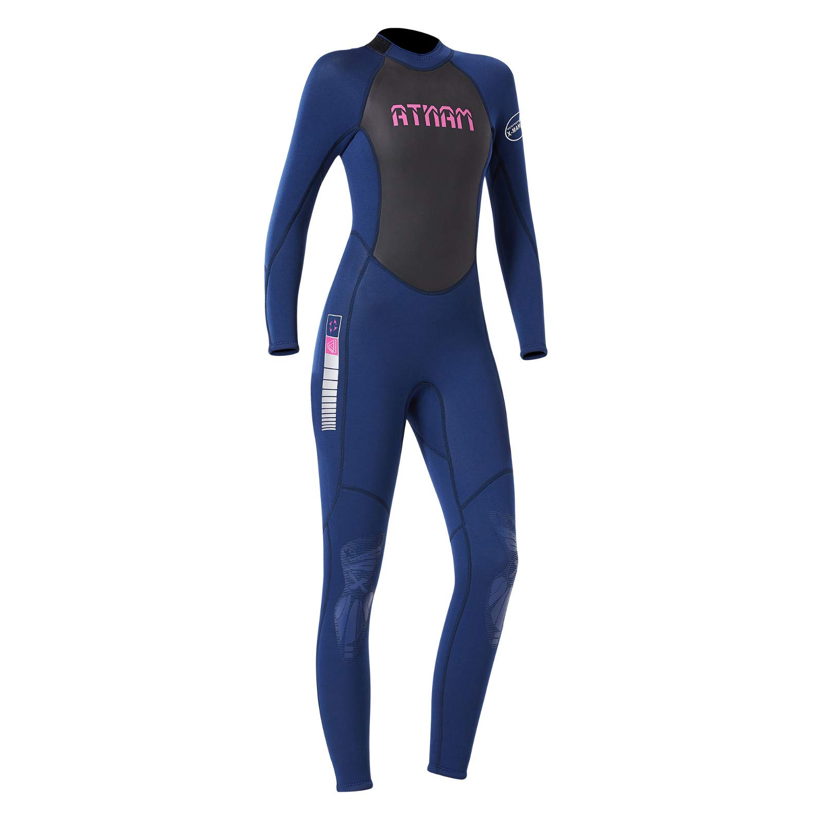 Women's Keep Warm Sunscreen Swimming,Surfing and Snorkeling Diving Coverall Suit by LUXISDE (Image #6)