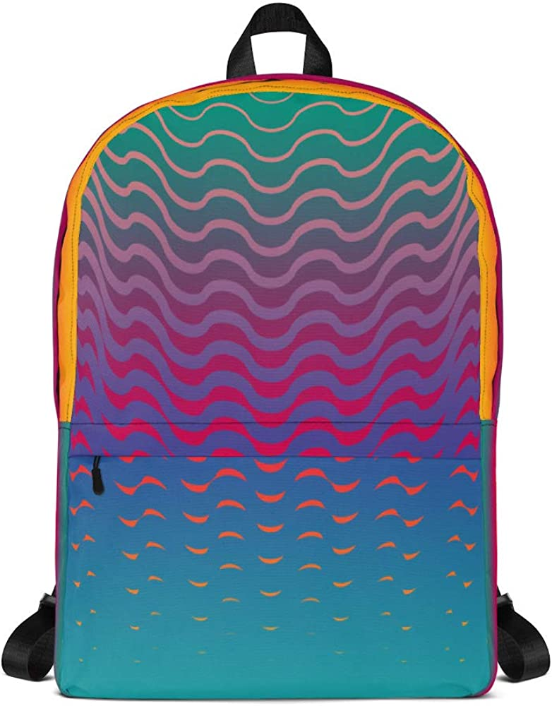 Seamless Vector All-Over Print Backpack