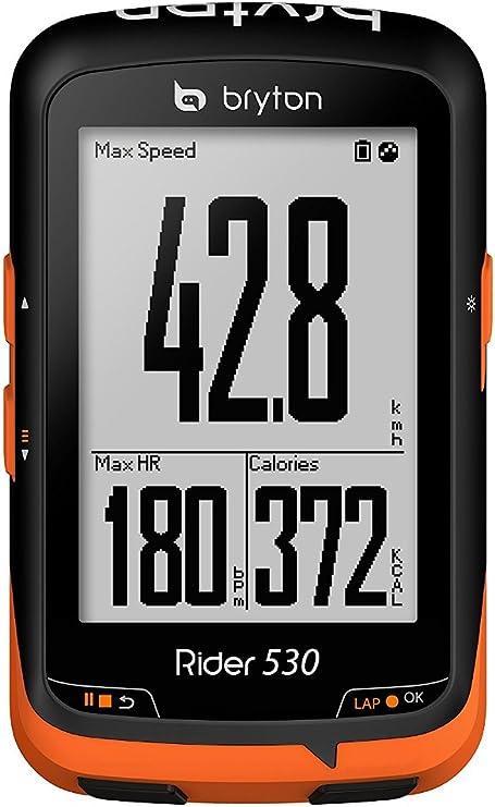 Bryton Rider 530E Velocímetro Computador GPS, Unisex adulto, Negro ...