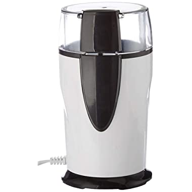 Coffee Grinder Electric - Small & Compact Simple Touch Blade Mill - Automatic Grinding Tool Appliance for Whole Coffee Beans, Spices, Herbs, Pepper, Salt & Nuts - Great Coffee Gift Idea!