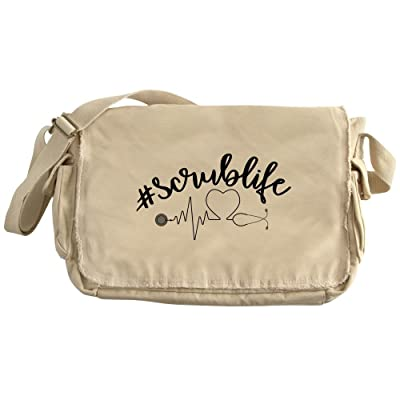 CafePress - Hashtag Scrublife - Unique Messenger Bag, Canvas Courier Bag