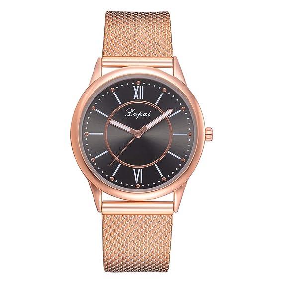 alikeey Reloj Unisex Digital de Cuarzo Reloj de Pulsera Cuarzo Analógico de Pulsera con Correa de Silicona Aleatorio de Mujer Taglia Unica C: Amazon.es: ...