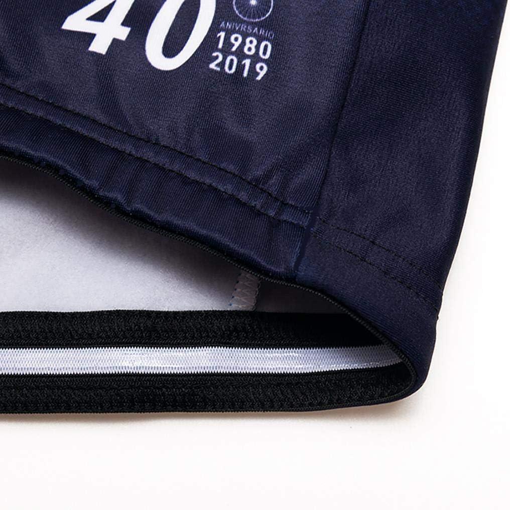 Transpirable y Que Absorbe El Sudor 20D de Manga Larga Pantalones,A Prueba de Viento Moxilyn Traje Jerseys de Ciclismo para Hombre,Conjunto Ropa de Ciclo Manga Larga,Pantalones Acolchados Top