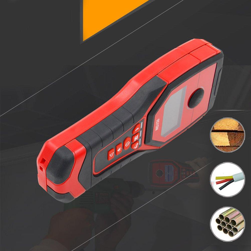 UKCOCO Detector de espárrago eléctrico Detector de pared o metal, madera, cables de corriente alterna, escaneo profundo: Amazon.es: Industria, ...