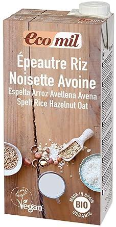 ECOMIL ESPELTA ARROZ AVELLANA AVENA BIO 1L 1L: Amazon.es ...