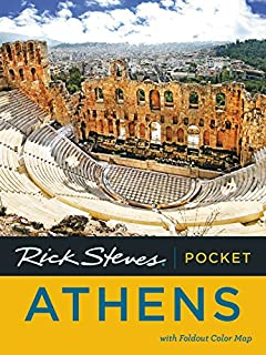 Streetwise Athens Map Laminated City Center Street Map of Athens
