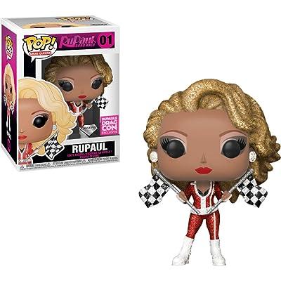 RuPaul [Diamond Col] (RuPaul\'s Drag Con Exc): Funko Pop! Vinyl Figure & 1 Compatible Graphic Protector Bundle (001 - 34264 - B): Toys & Games [5Bkhe1103709]