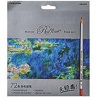 Marco ade 72-color Raffine Fine Art lápices de colores /lápices de dibujo para Sketch /Secret Garden Coloring Book (no incluido)