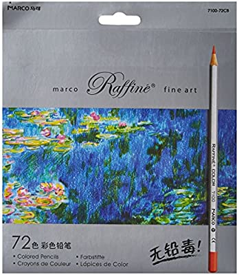 Marco Ade 72 Color Raffine Fine Art Colored Pencils Drawing For Sketch Secret Garden Coloring Book Not Included