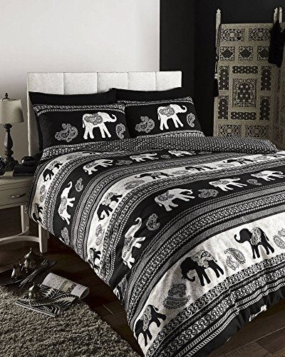 size covers mandala bohemian pillows duvet large bedding sets set sheet collections bed with jaipur queen handloom indian elephant