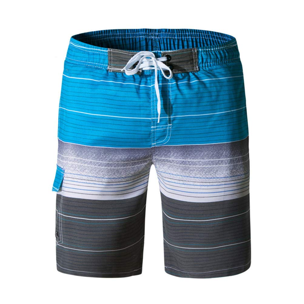 Mens Surf Swimming Trunks Beach Shorts Summer Water Sports Beachwear