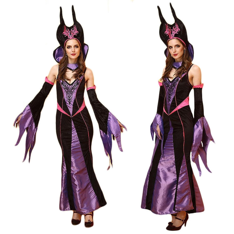 eC-Bionergy Halloween-Hexe Rollenspiel Bühne Kleidung Königin ausgestattet Uniformen Spaß Feiern Kleider Kostüme Cosplay Set