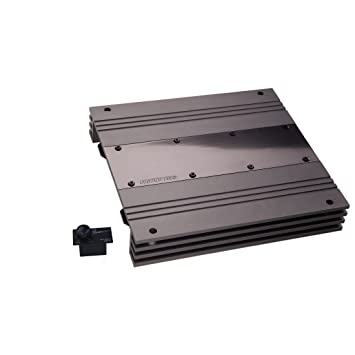 Ground Zero GZUA 2125SQ - Amplificador de sonido para coches, color negro