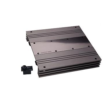 Ground Zero GZUA 2125SQ - Amplificador de sonido para coches, color negro