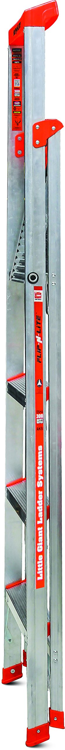 Flip-N-Lite 300-Pound Duty Rating 6-foot Stepladder with Platform by Little Giant Ladder Systems (Image #2)