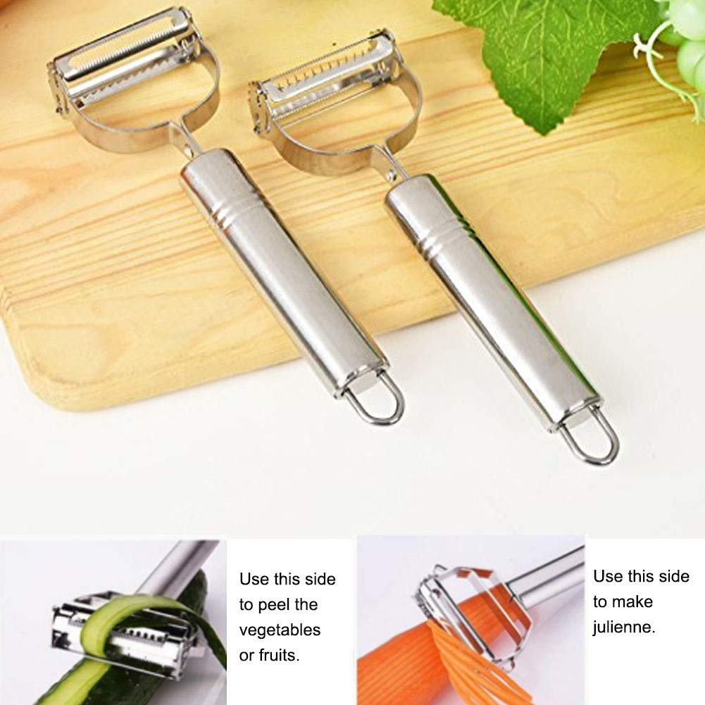 Speder Stainless Steel Kitchen Gadget Utensil Tool Set-1 Fish Scaler-1 Vegetable and Fruit Peeler-1 Fruit Knife by Speder (Image #3)