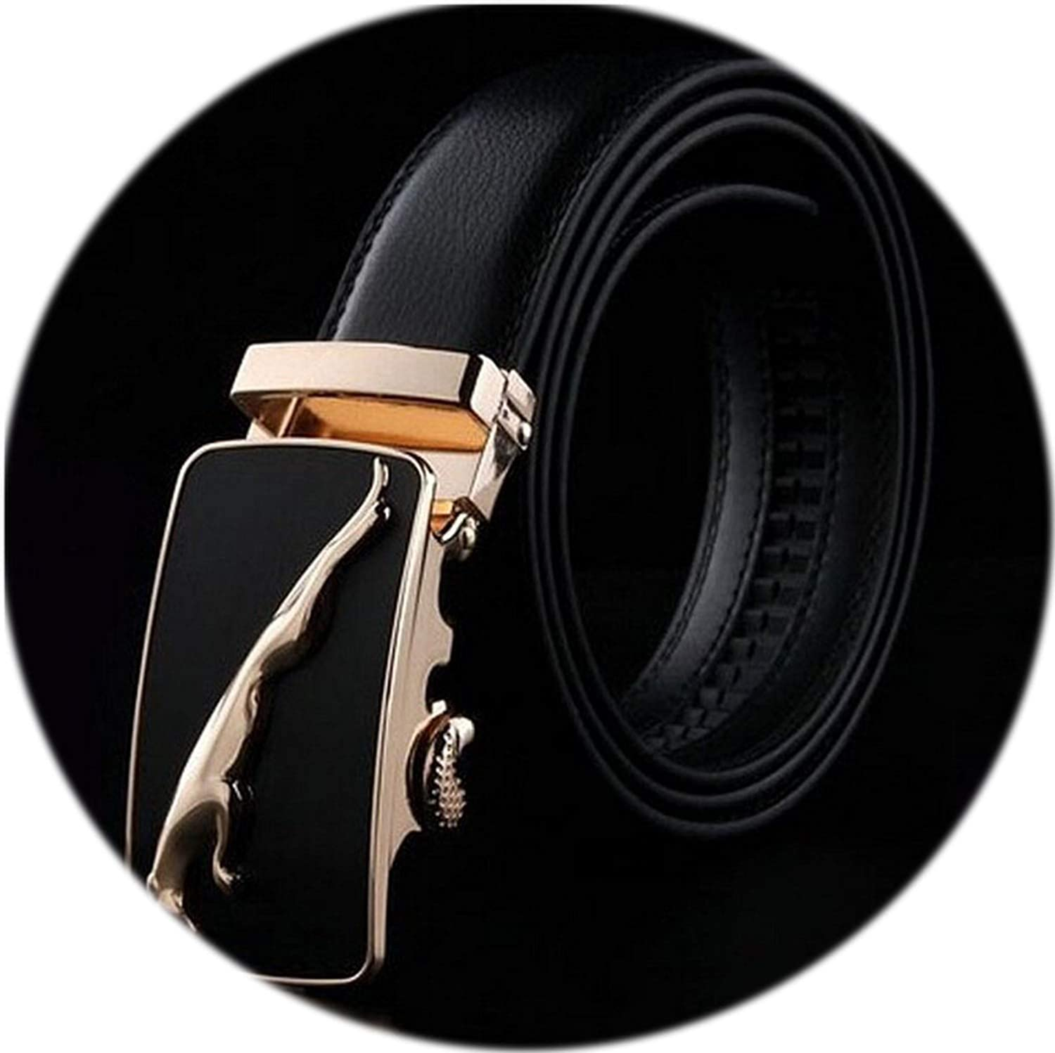 Mens Business Fashion Formal Casual Style Belt Designer Leather Strap Male Man Belt Automatic Buckle Belts For Men Top Quality,25,115cm