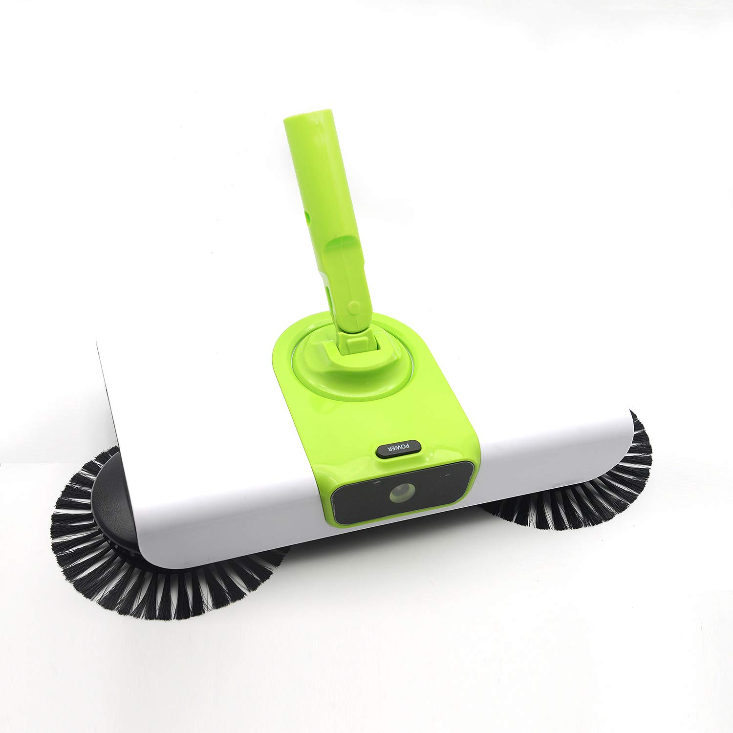 EZ SPARES Quiet Floor&Carpet Sweeper,Dry&Wet with Mops, Non Electric Multi-Surface Cleaner,Strong Cleaning Power,Great for House,Office,Kitchen