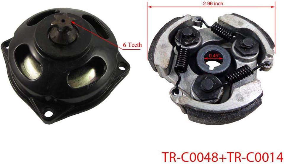 Dirt Bike ATV 47cc//49cc Cag // Pocket Bike Engine Case