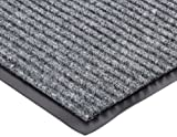 Durable Corporation Spectra-Rib Entrance Mat, for Indoor and Vestibule Areas, 48'' Width x 96'' Length x 3/8'' Thickness, Charcoal