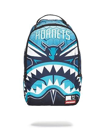 Amazon.com   NBA LAB X Sprayground Hornets Shark Backpack   Casual Daypacks