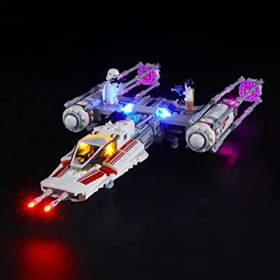 BRIKSMAX Led Lighting Kit for Resistance Y-Wing Starfighter - Compatible with Lego 75249 Building Blocks Model- Not Include The Lego Set: Toys & Games