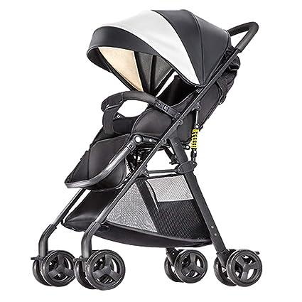Oliy - Paraguas de verano para cochecito de bebé, plegable, pequeño, portátil,