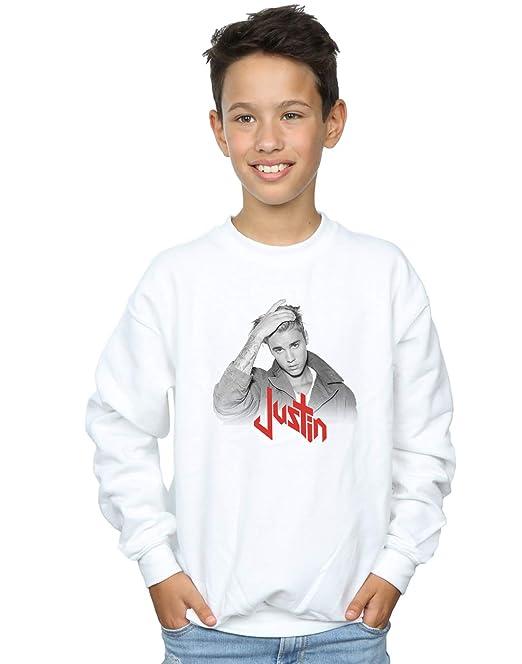 Absolute Cult Justin Bieber Niños Red Logo Camisa De Entrenamiento: Amazon.es: Ropa y accesorios