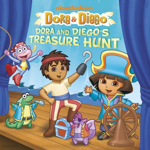 Spotlight Pirate Costume (Dora and Diego's Treasure Hunt (Dora &)