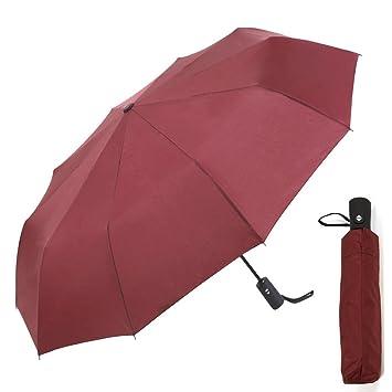 YOBOKO 60 MPH a prueba de viento Paraguas de apertura automática Cerrar Una Mano Operación compacto de viaje Paraguas con diseño ligero con estilo ...