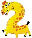 C-Princess アルミ バルーン 風船 アニマル 動物の数字 ナンバー かわいい ベビー 子供 キッズ おもちゃ バースデイ 誕生日 クリスマス (2)