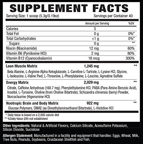 NLA For Her Uplift Pre Workout Supplement, Cherry Limeade, 4