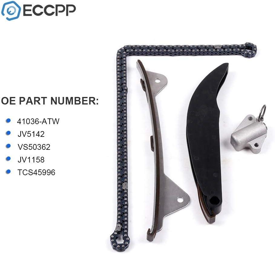 ECCPP Timing Chain Kit fits for 2011-2016 Hyundai Elantra GT Kia Soul 2.0L 1.8L 41036-ATW JV5142 VS50362 JV1158 TCS45996