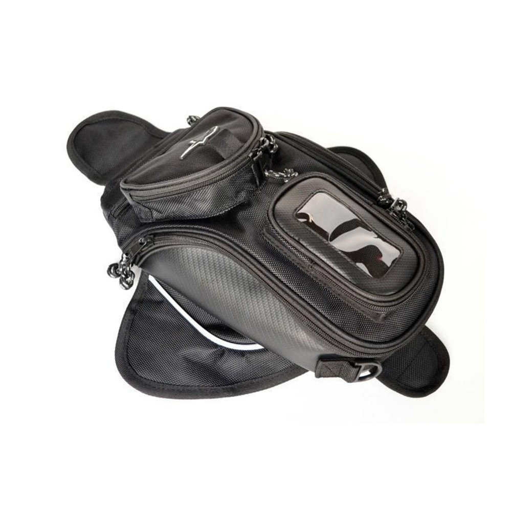 Encell Motorbike Oil Fuel Tank Bag Riding Luggage Phone Case Bag,S