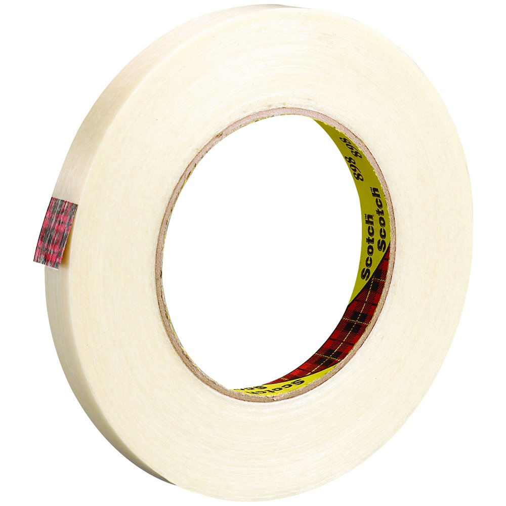 Pack of 12 Box Partners Scotch Filament Tape T91189812PK 1//4 x 60 yd
