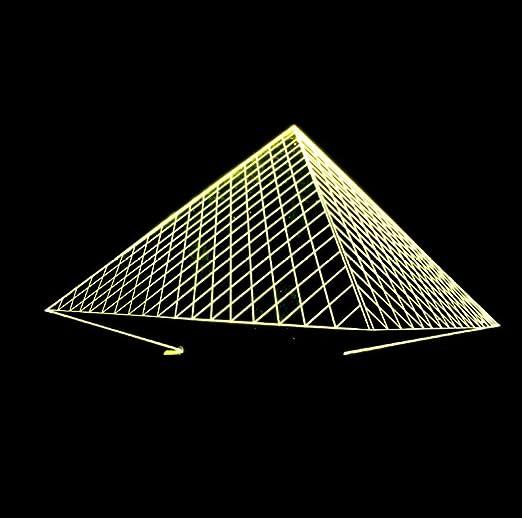 Luces De Noche Para Adultos, Souvenirs,Pirámide, Decoracion ...