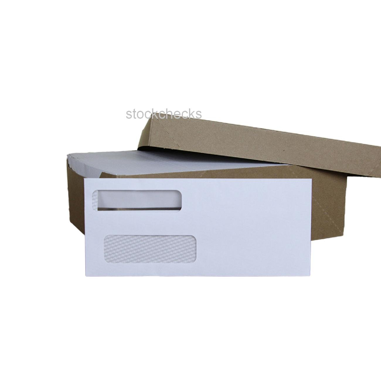 Microsoft Money Checks Tint Self Seal Envelopes: Fits Quicken Quickbooks Quick Books 500ct #9 Double Window Security Intuit