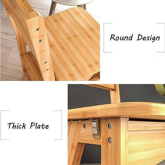Escalón plegable 4 escalones Escalera de madera Silla ...