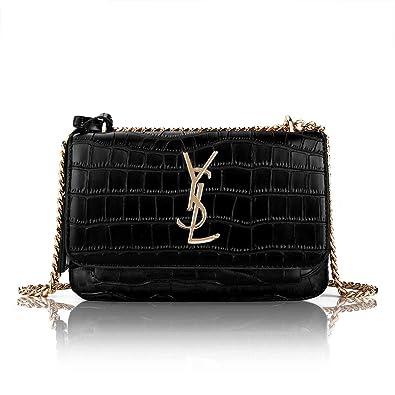 c2d8dba3c741 Olyphy Designer Leather Shoulder Bag for Women Classic Qulited Crossbody  Clutch Purse