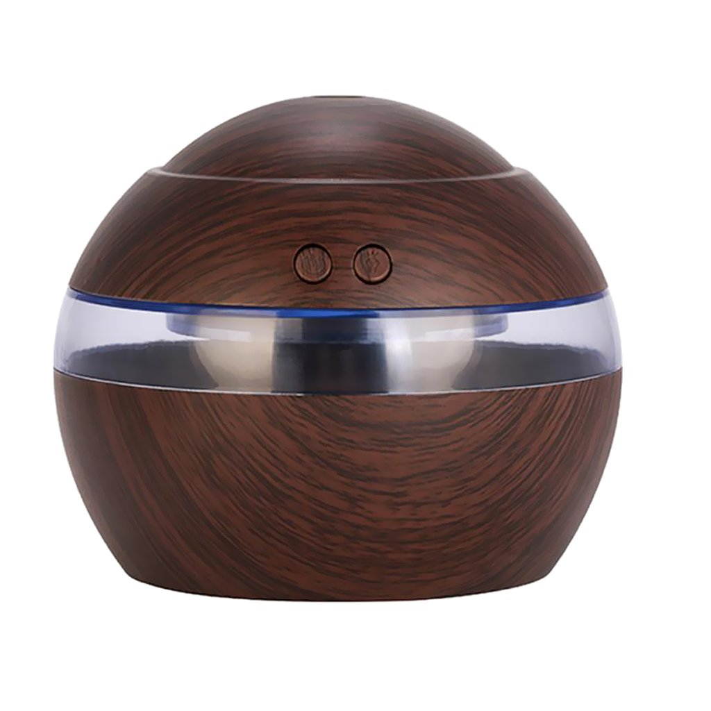 Homyl Wooden LED Color Changing Ultrasonic Aroma Humidifier Diffuser Air Purifier for Home, Office, Baby Room, Bedroom - #1