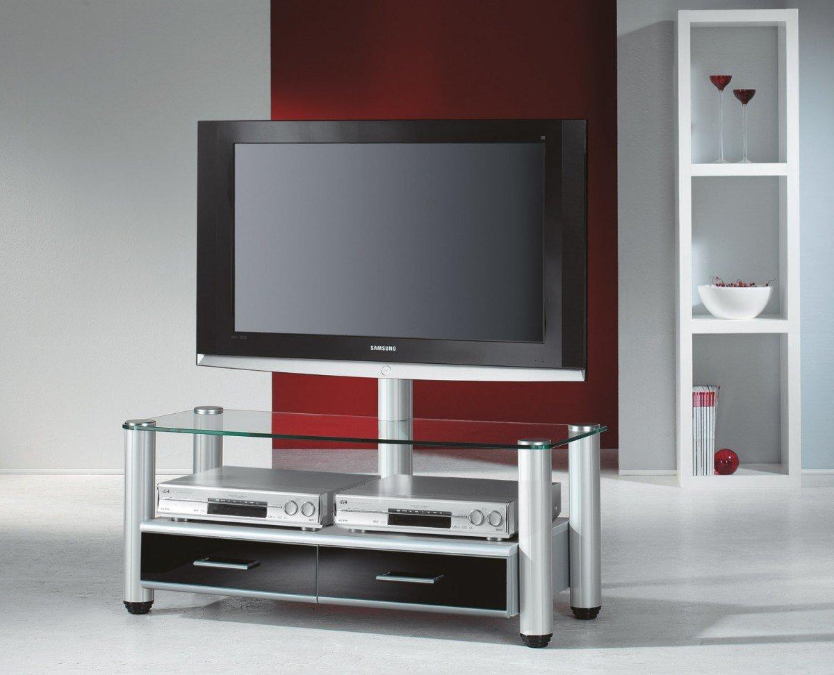 VCM Merida Waschtisch TV/HiFi mit Aufbewahrung DVD/CD